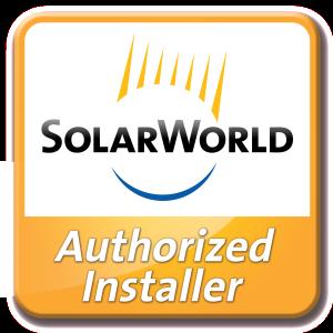 SolarWorld_2013 Authorized Installer_Logo